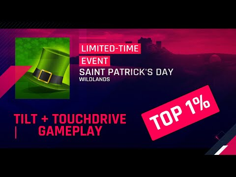 Saint Patricks Day Laferrari Top 1% Tilt & Touchdrive Gameplay