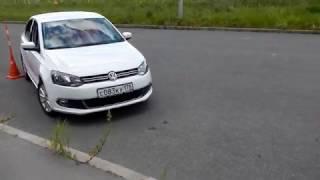 паралельная парковка задом