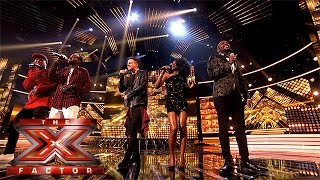 The Final 13 perform One Direction's Perfect   Week 1 Results   The X Factor 2015