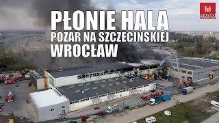 #Pożar Na Szczecińskiej #płonie  Hala Magazynowa #straż Pożarna