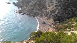Новый Свет, Царский пляж, мыс Капчик 22.10.2013