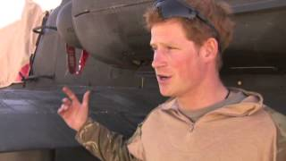 Prince Harry on Prince William going to war