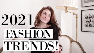 Fashion Trends for 2021! Trend Alert