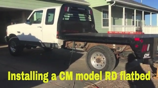 F-250 Flatbed Mounting