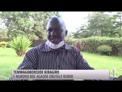 E Mukono, RDC agadde obutale bubiri