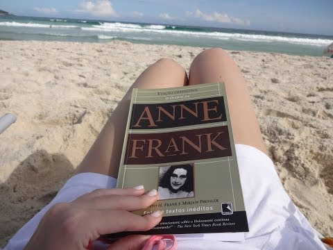 Resenha Literária   O diário de Anne Frank  #JulhoTodoDia