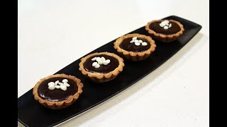 Double Chocolate Tartles | Dessert Recipes |  Sanjeev Kapoor Khazana
