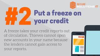 Protect you and your family from the Equifax data breach