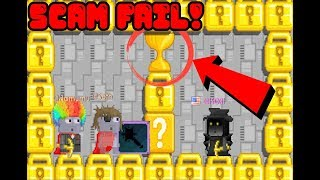 Growtopia - WHAT WOULD BE IF THIS SCAM FAIL WASN'T RECORDED??!!
