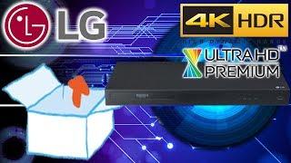 Unboxing | LG UBK80 Ultra HD 4K Blu-ray-Player (mit HDR und Dolby Atmos) schwarz