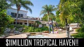 $11MILLION TROPICAL HAVEN IN BEVERLY HILLS!!
