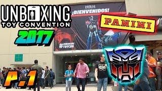 UNBOXING TOY CONVENTION MEXICO 2017  - CLUB BALDERAS - LAFERRARI PANINI