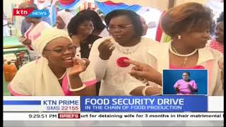 Women leaders under 'Embrace Kenya' partners with JKUAT on a food security drive