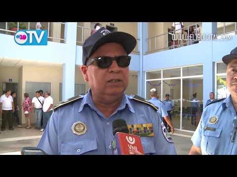 Inauguran moderna estación policial en San Rafael del Sur