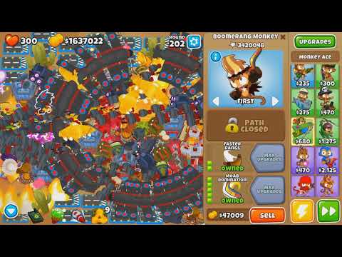 Ayumilove BTD6 Round 200+ Tower Setup Guide (Bloons Tower Defense 6