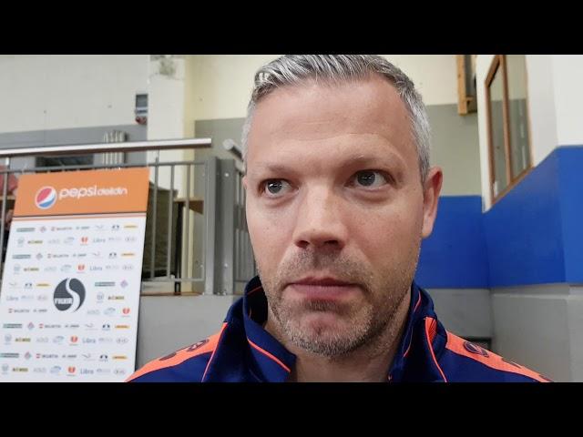 Helgi Sig: Erfitt þegar að staðan er 4-1 í hálfleik