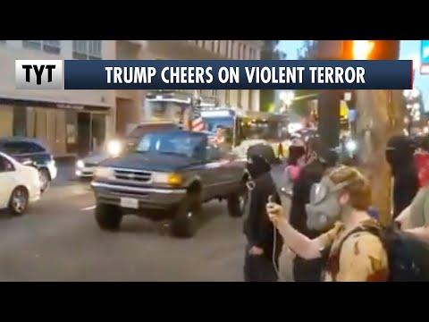 Trump Cheers On Violent Terror