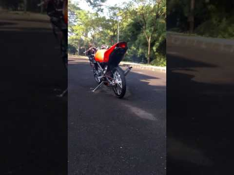 Video Modif NINJA RR ala rumahan