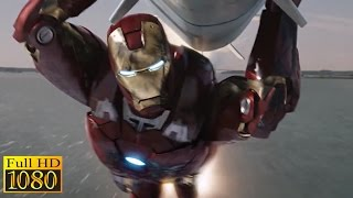 The Avengers (2012) - Iron Man Saves New York City & Hulk Saves Iron Man Scene (1080p) FULL HD