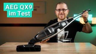 AEG QX9 im Test - Der flexibelste Akku-Staubsauger mit Haarschredder-Funktion