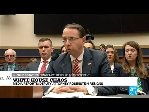 Media reports: Deputy attorney Rosenstein resigns
