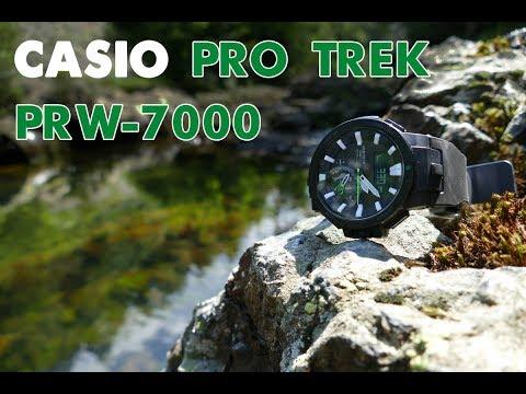 CASIO PRO TREK PRW-7000 - Outdooruhr für Angler (full-HD)