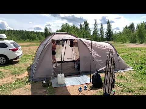 Комфортный отдых с палатками