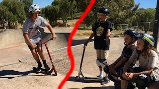 SCOOTER STEREOTYPES | SKATEPARK EDITION