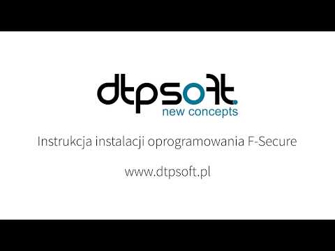 F Secure - Instrukcja Instalacji