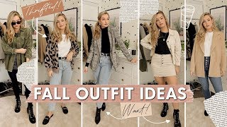 20 FALL OUTFIT IDEAS! Outfit Ideas For Fall 2019!