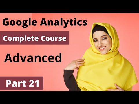 Advanced Google Analytics 2021 | Google Analytics Certification ...