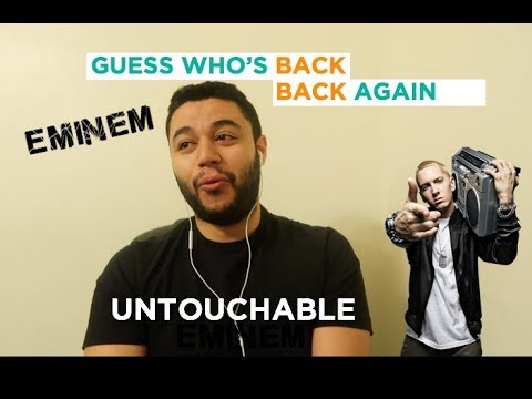Eminem - Untouchable (Audio) REACTION/REVIEW