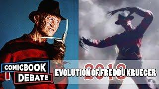 Evolution of Freddy Krueger in Movies & TV in 9 Minutes (2017)