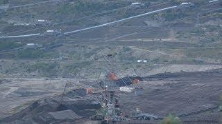preview picture of video 'Kopalnia Węgla Brunatnego Bełchatów'