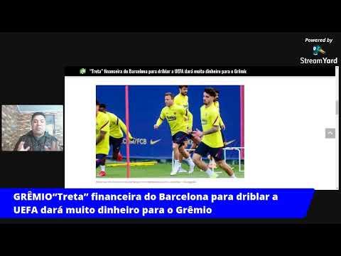 """""""Treta"""" financeira do Barcelona para driblar a UEFA dará muito dinheiro para o Grêmio"""