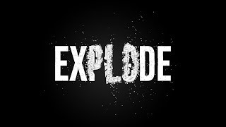 After Effects Tutorial - Text Explosion - No Plugins
