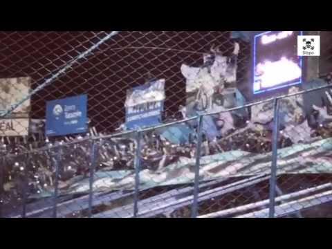 """""""Crazy support by Argentinian fans! Atlético Tucumán - River Plate / Primera Division / 31.05.17"""" Barra: La Inimitable • Club: Atlético Tucumán"""