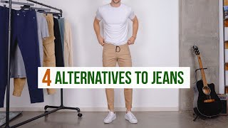 4 Best Casual Pants For Men | Jeans Alternatives | Men's Fashion Joggers, Chinos, Etc.