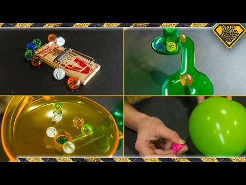 (Almost) Everything We've Ever Made in One Rube Goldberg Machine