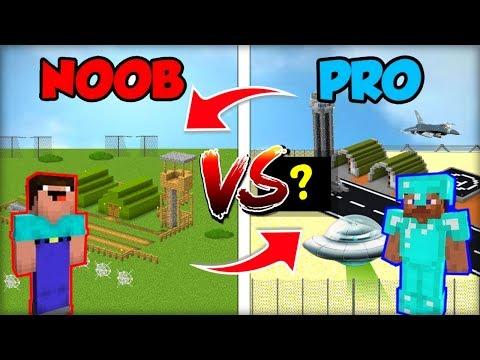 NOOBOVSKY RAID DO AREA51 PROFÍKA vs. PRO DO AREA51 NOOBA! (Obráceně!)