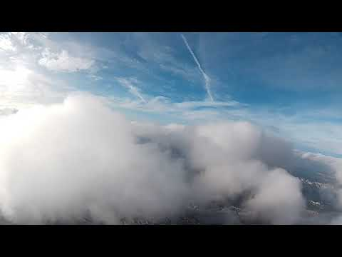 crash-sonicmodell-ar-wing-and-flying-in-the-clouds--sonicmodell-arwing----