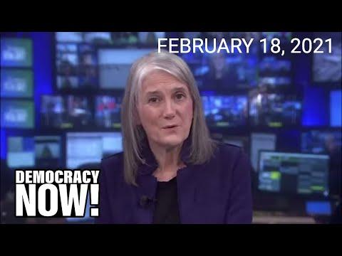 Top U.S. & World Headlines — February 18, 2021