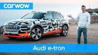 Audi e-tron - you'll be amazed how much it can recharge rolling downhill | carwow
