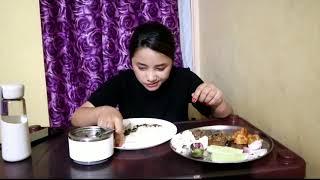 Yenbum eromba, beef and pork.