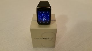 Samsung Gear S In Depth Unboxing and Initial Setup (US version)