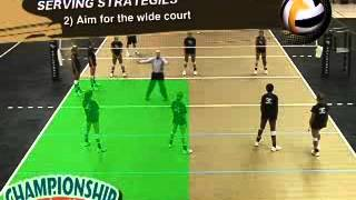Volleyball Techniques and Tactics to Win the Serve