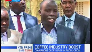 Bad news from the coffee sector as production is projected to hit new lows in the coming days