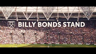 WEST HAM UNITED ANNOUNCE BILLY BONDS STAND