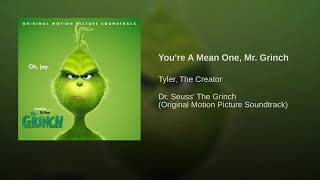 Mr Grinch:Tyler The Creator Dr Seuss The Grinch (read Discription)
