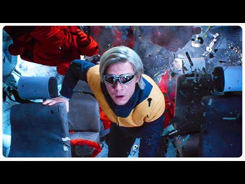 Quicksilver Saves Everyone From Solar Flare Scene - X-MEN DARK PHOENIX (2019) Movie CLIP HD
